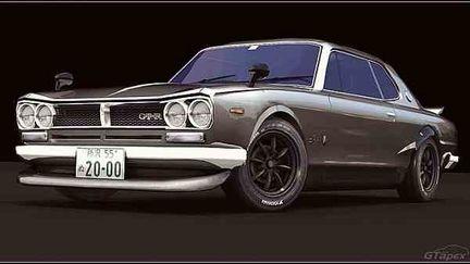1971 Nissan Skyline Ht2000gt-r (kpgc10)