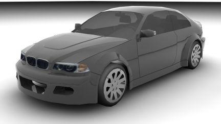 Lowpoly BMW M3