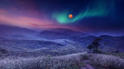 Colorful Nightfall