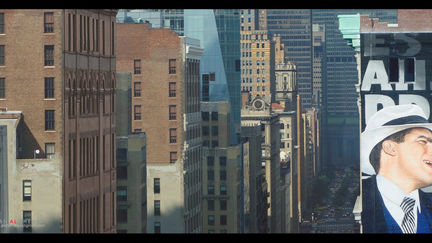 New York City Camera Projection Set extensionMatte Painting