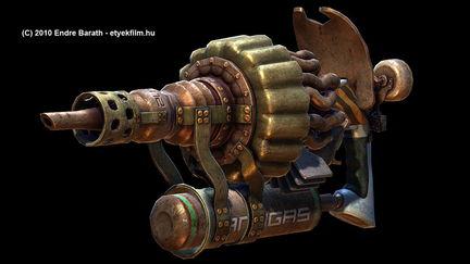 Steam Gun, game model