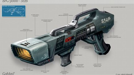 BFG 9000 - Weapon Concept