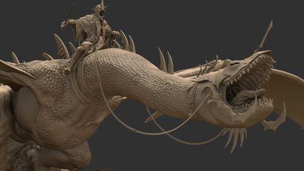 Nazgul, Lord Of The Rings - Fan Art