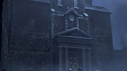 Scrooge house for Christmas Carol