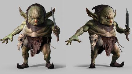 Forrest Goblin Posed