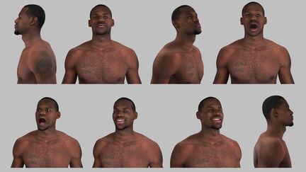 LeBron James, Digital Athlete - Liquid Development