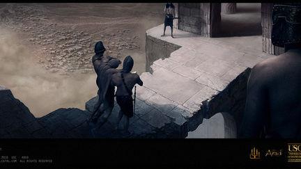 Legend of Arad. Bridge shot