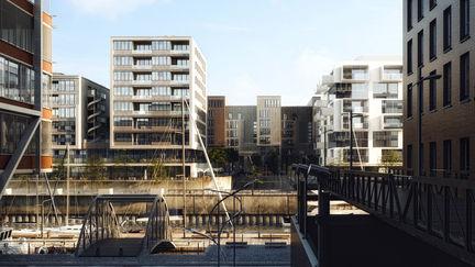 Hamburg Hafencity - CGI