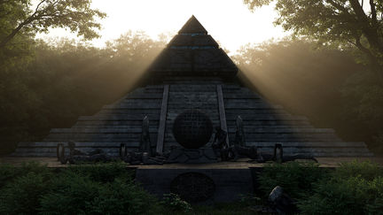 Ancient Alien Temple
