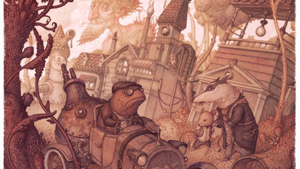 The Steam in the Willows