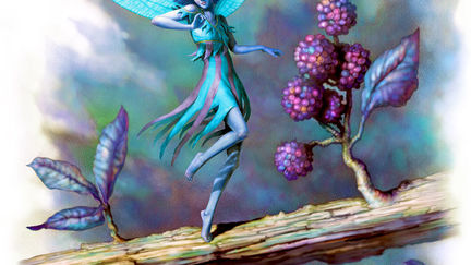 Blue Forest Pixie