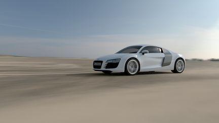 Car visu Audi R8 done in VRED