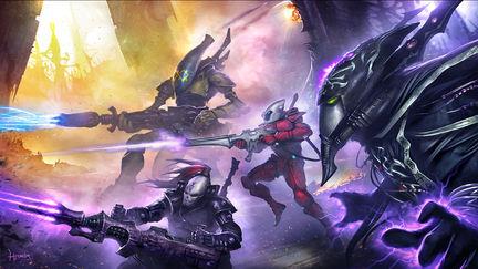 Eternal Crusade: Eldar Squad