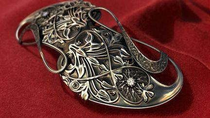 Gandalf's brooch by fox