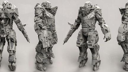 Deus Ex Mankind Divided : Mechanical Ogre