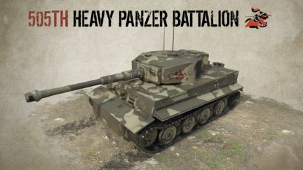 505TH  HEAVY PANZER BATTALION