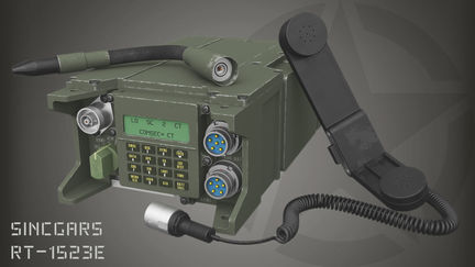 SINCGARS Military Radio
