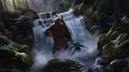 Waterfall  Hunt