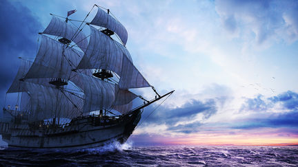 Adventures of a Pirate Ship 01