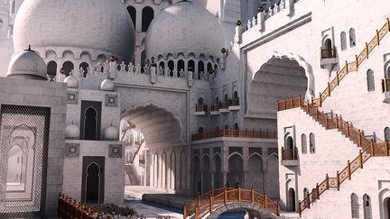 Fantasy Mosque