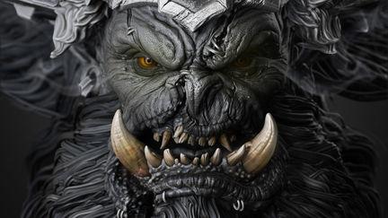 Fan art of Warcraft- ORC