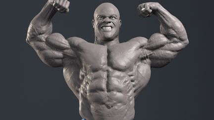 Phil Heath turntable