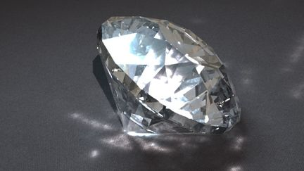 Diamond, in the Buff