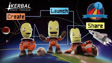 "Kerbal Space Program ""Making History Expansion"""