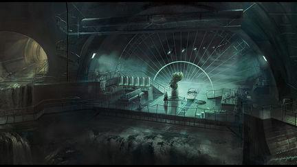 Dr. Schreber's hideout (inspired by Dark City (1998 film))