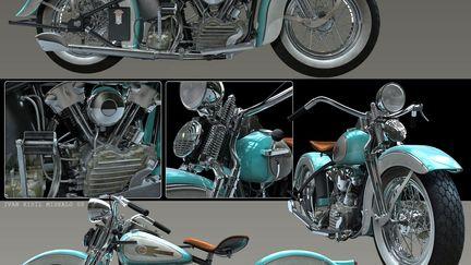 Harley Davidson EL 1937 - Knucklehead