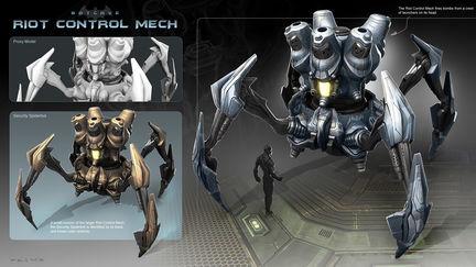 Riot Control Mech