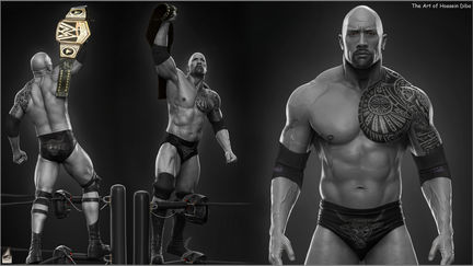 Dwayne The Rock Johnson done for WWE