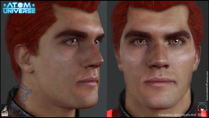 Real-time Adam done for Atom Universe 2015