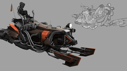 hover mule