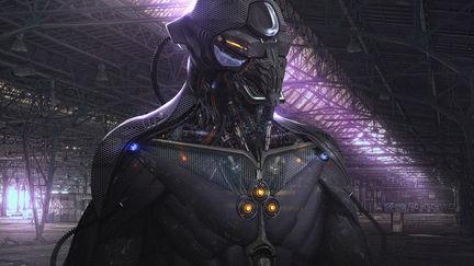 sci-fi suit concept design