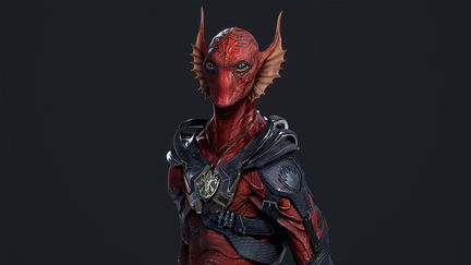 Guardians of the Galaxy Vol 2. Krugarr Final Design