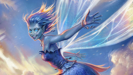 Bluebell Pixie