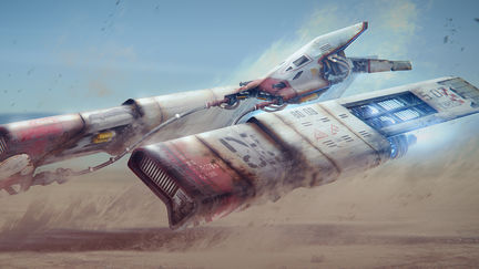 Star Wars Re-imagined: Imperial pod racer (original trilogy style)