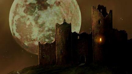 Strange light at the Castle