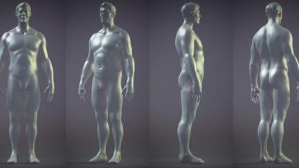 quick shape - man