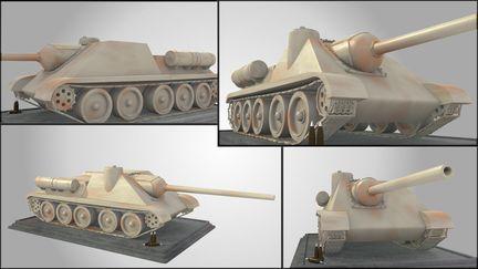 Su-100 Tank