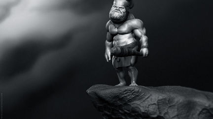 Little Cave Troll