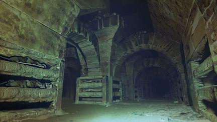 catacomb halls