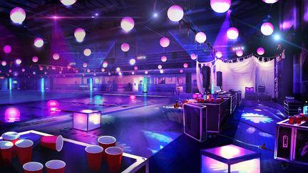 Pool Party vortex club - Life Is Strange