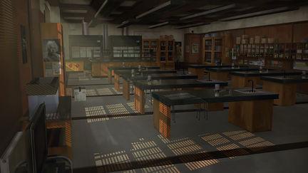 Science ClassRoom blackwell academy - LIS