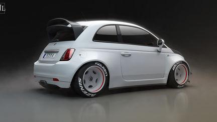 Rallycross Fiat 500