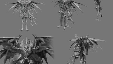 Demon Design Monster.