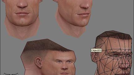 John Cena head texturing tutorial