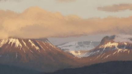 Line Tool Mountains