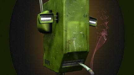 robot portrait I